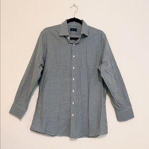 Proper Cloth Men's Long Sleeve Dress Shirt